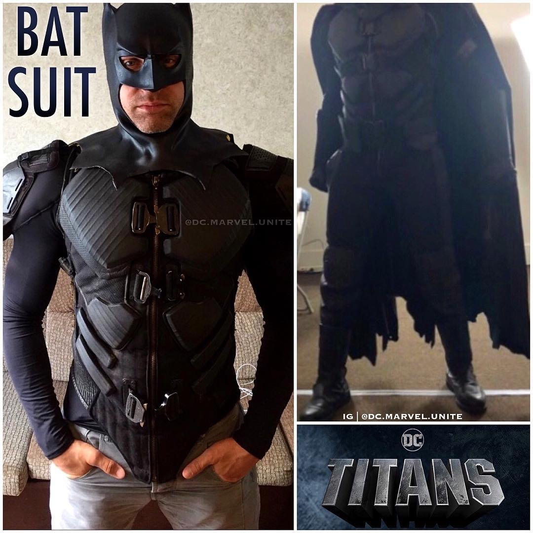 Is This Our First Look At Batman's Costume In Titans?