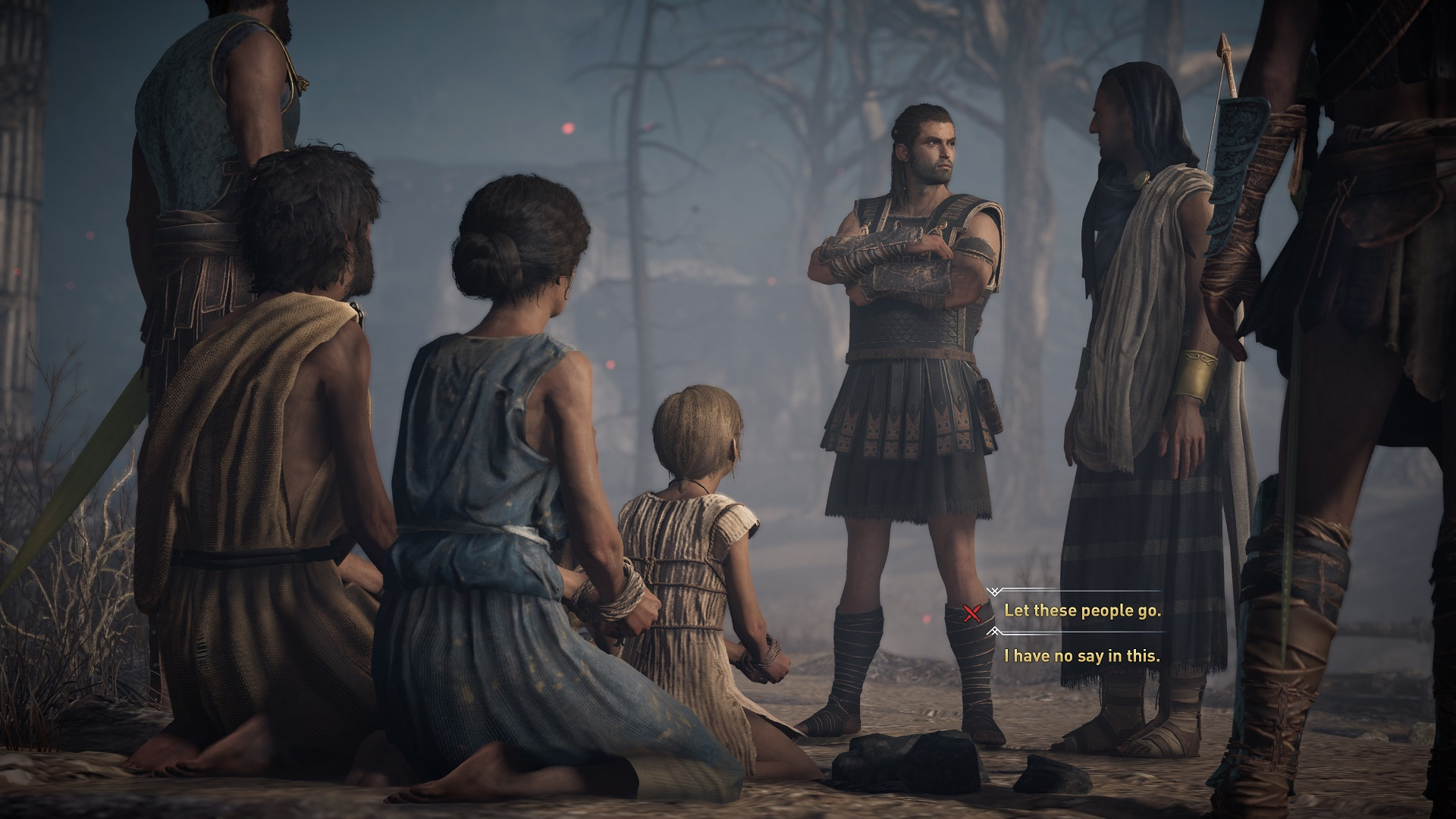 Assassin's Creed Odyssey Dialogue Choices