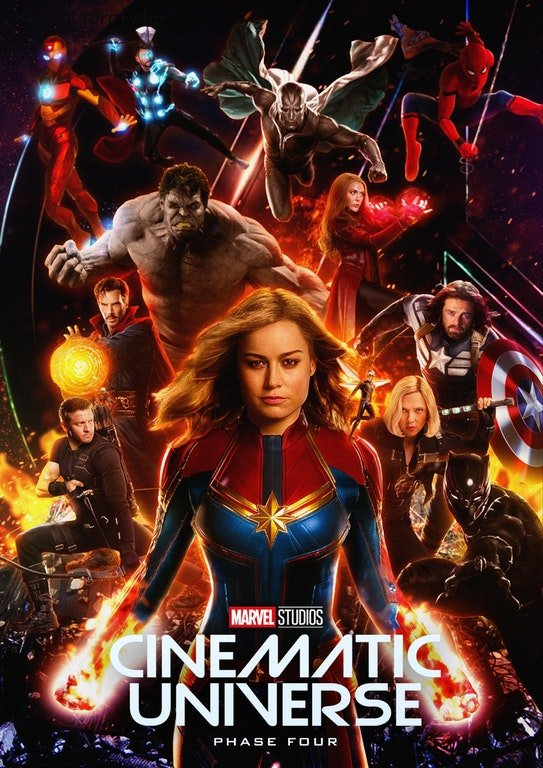 New MCU Fan Poster Teases Marvel's Phase 4 Line-Up