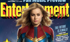 Captain Marvel Gets An Epic New Logo