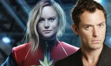 Jude Law's Captain Marvel Role Has Leaked