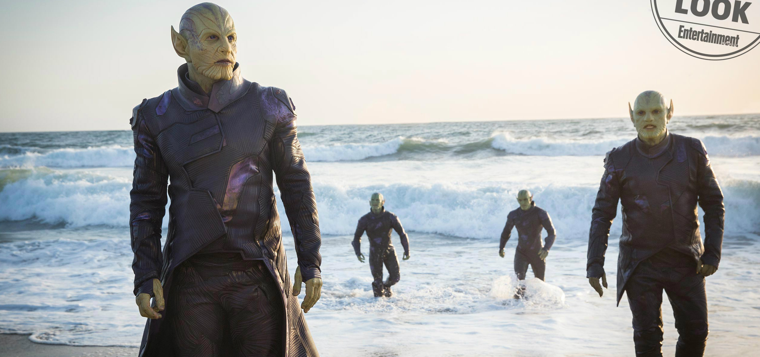 Captain Marvel Empire Cover And Stills Offer New Look At The Skrulls And Starforce
