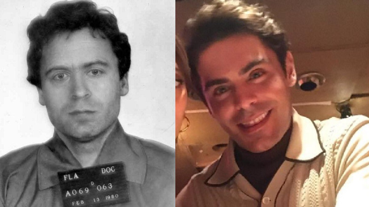 ted bundy Extremely Wicked Shockingly Evil and Vile