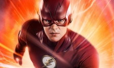 Candid Photo Reveals Another Look At The Flash's New Costume