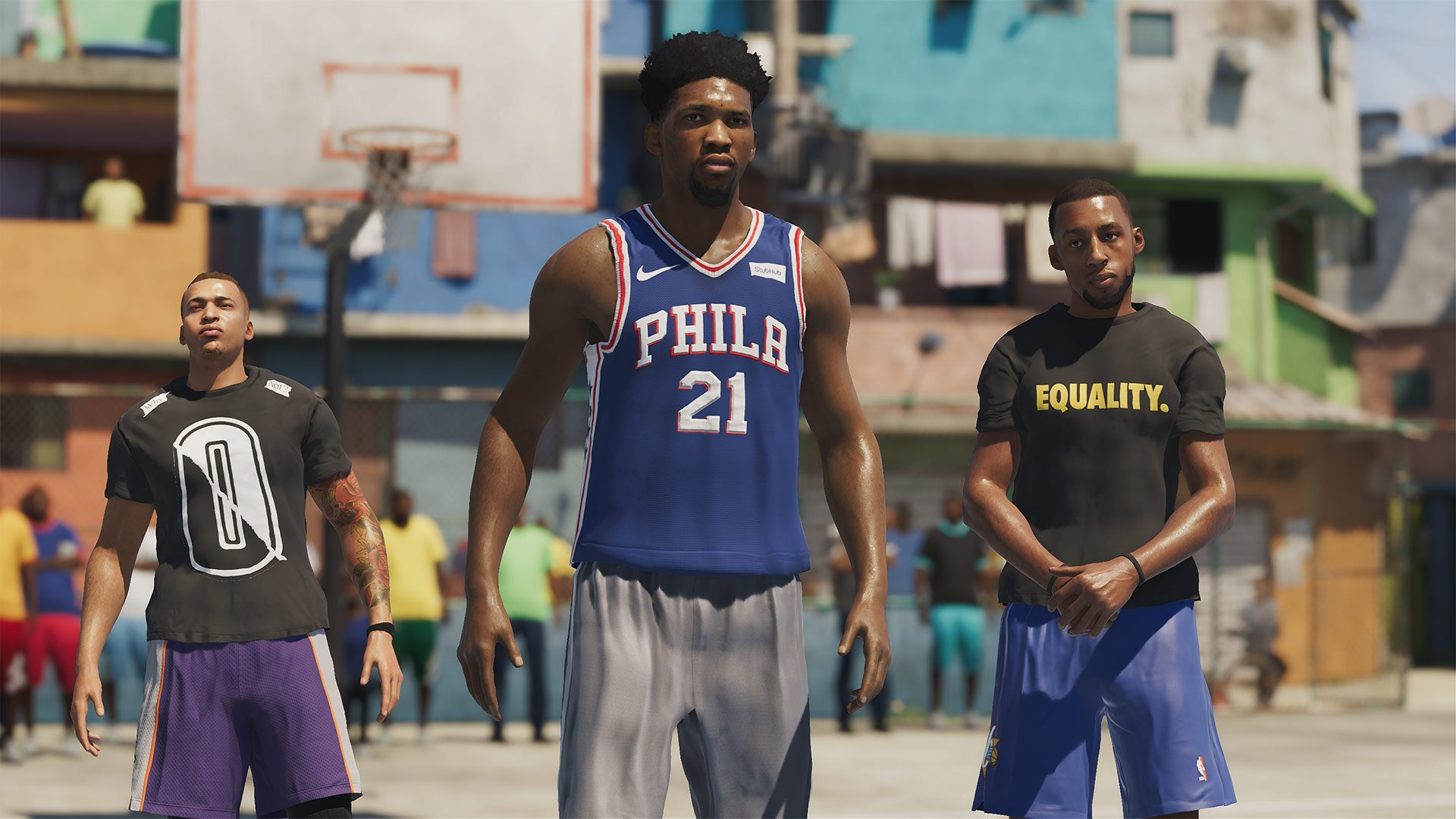 NBA Live 19 Athletes