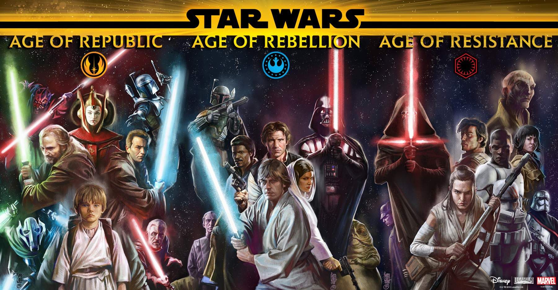 Marvel Teases New Age Of Star Wars Comic Book Series