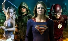 Arrowverse Heroes Battle The Anti-Monitor In New Crisis BTS Photo And Videos