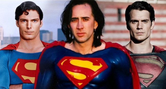 Here's How Nicolas Cage Might've Looked As Superman In Crisis On Infinite Earths