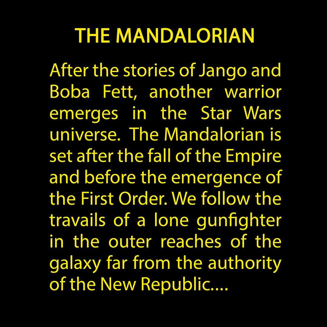 The Live-Action Star Wars TV Show Is Called The Mandalorian
