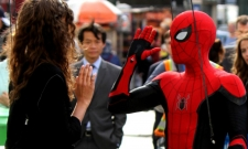 Spidey And MJ Meet Outside Grand Central In Spider-Man: Far From Home Set Pics