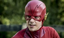 Grant Gustin And Stephen Amell Swap Costumes On The Set Of Arrowverse Crossover Elseworlds