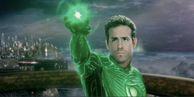 Ryan Reynolds in Green Lantern