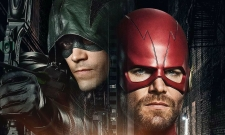 Barry And Oliver Swap Costumes In New Arrowverse Crossover Pics