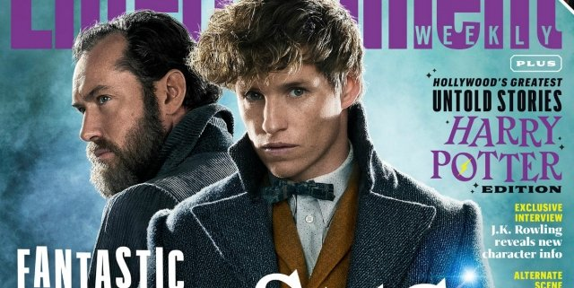 Fantastic Beasts 2 EW Cover