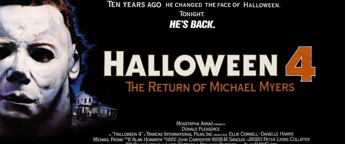"In Defense Of: ""Halloween 4: The Return Of Michael Myers"" (1988)"