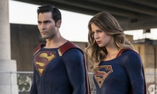 Superman And Supergirl Team Up In New Arrowverse Crossover Pic
