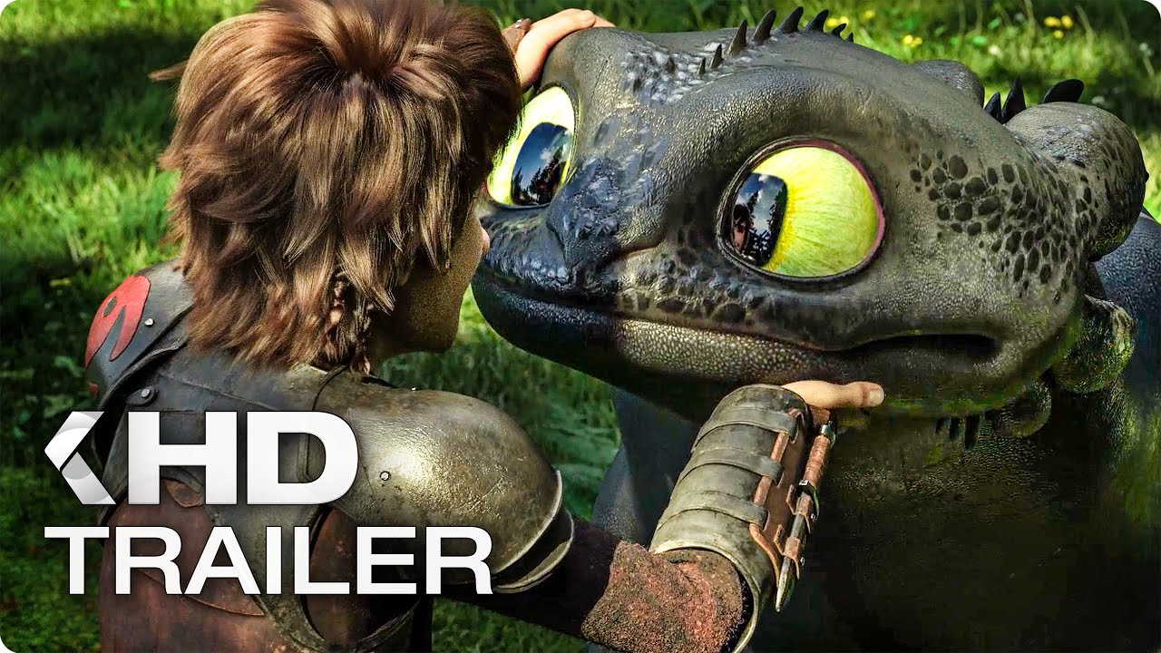 New How To Train Your Dragon The Hidden World Trailer