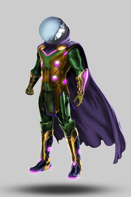 Here S How Mysterio Could Look In Spider Man Far From Home With His Helmet