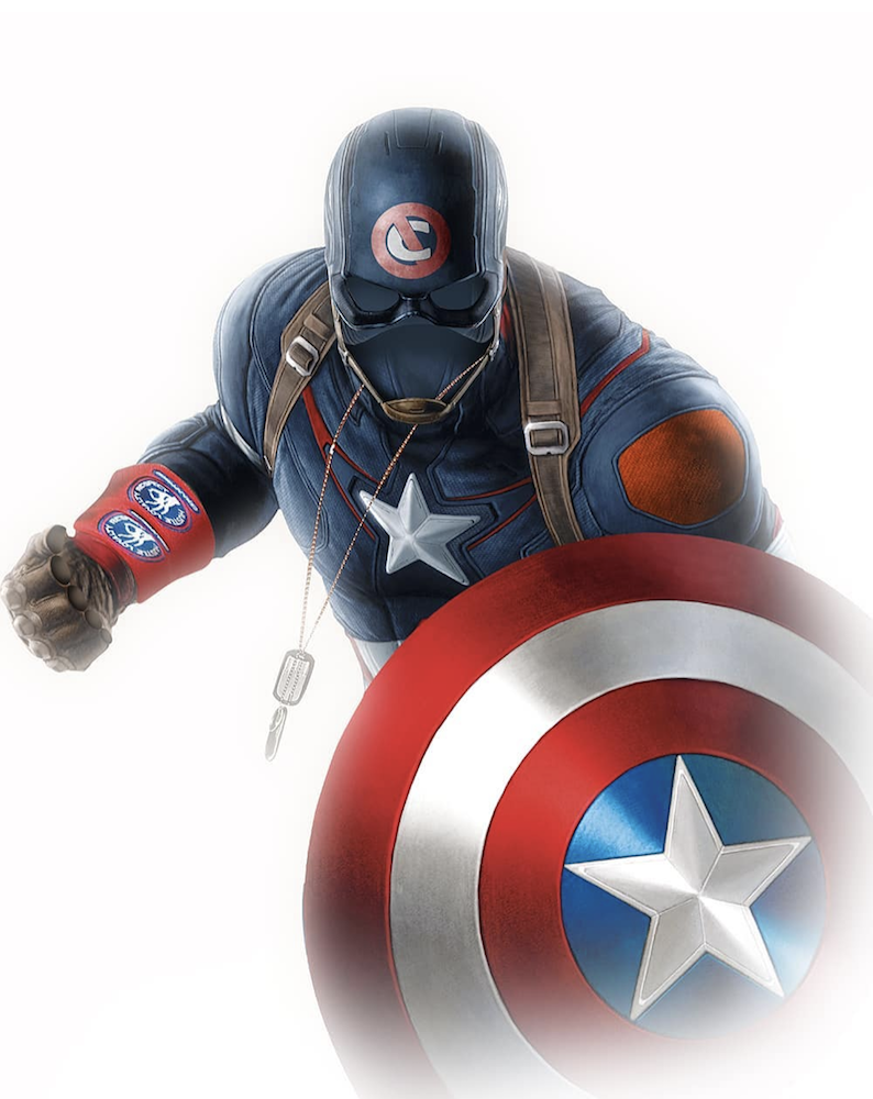 Hilarious New Fan Art Imagines John Cena As Captain America