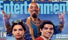 Aladdin Promo Art Reveals First Look At Will Smith's Blue Genie