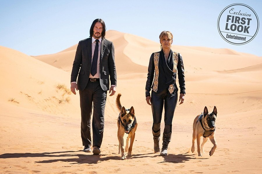 Keanu Reeves and Halle Berry in new John Wick: Chapter 3 images