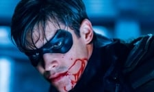 Titans Set Pic Reveals First Look At Brenton Thwaites In Nightwing Costume