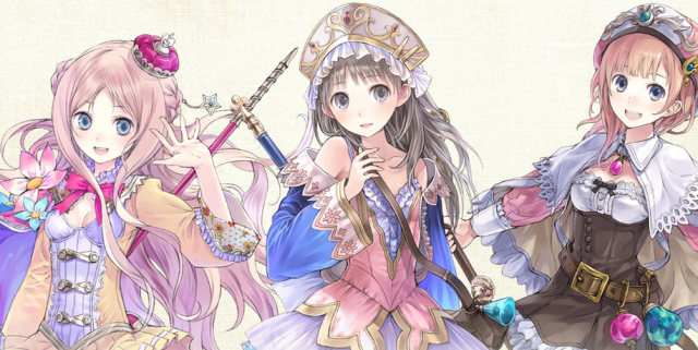 Atelier Arland Series Deluxe Pack Artwork