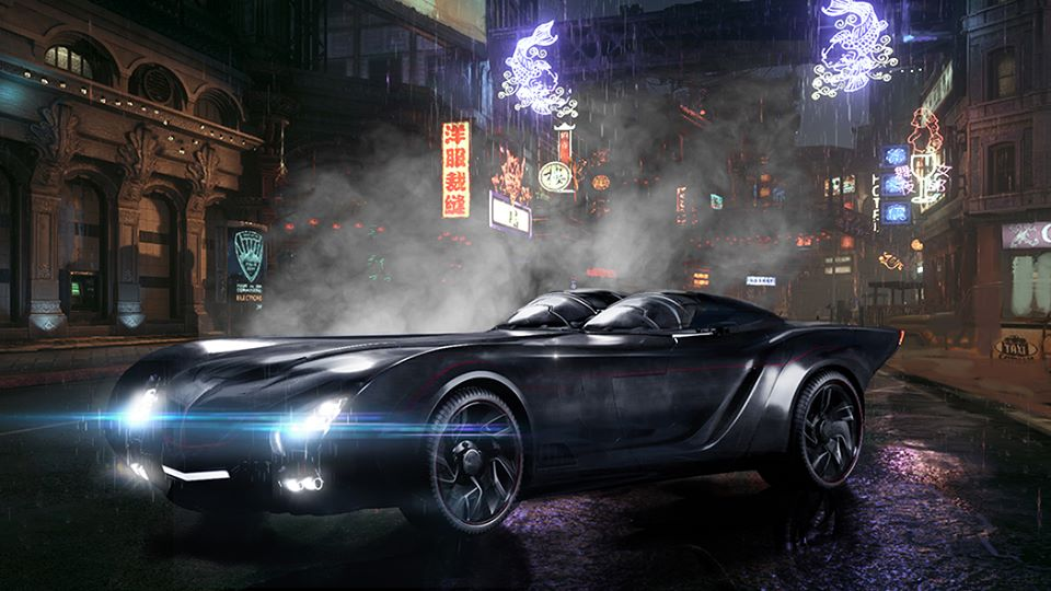 How Much To Paint A Car >> New Photo Offers Best Look Yet At Titans' Batmobile