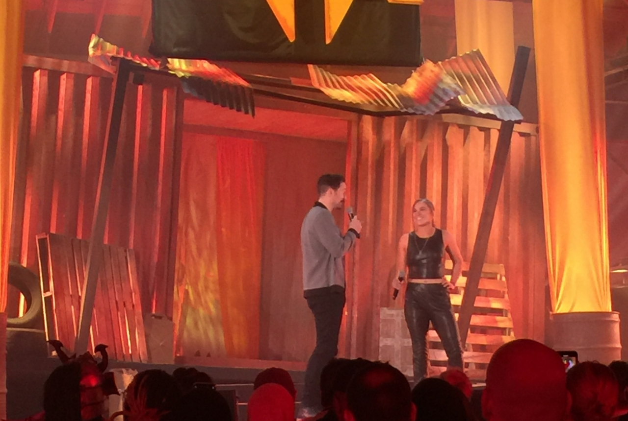 Ronda Rousey at MK11 Event