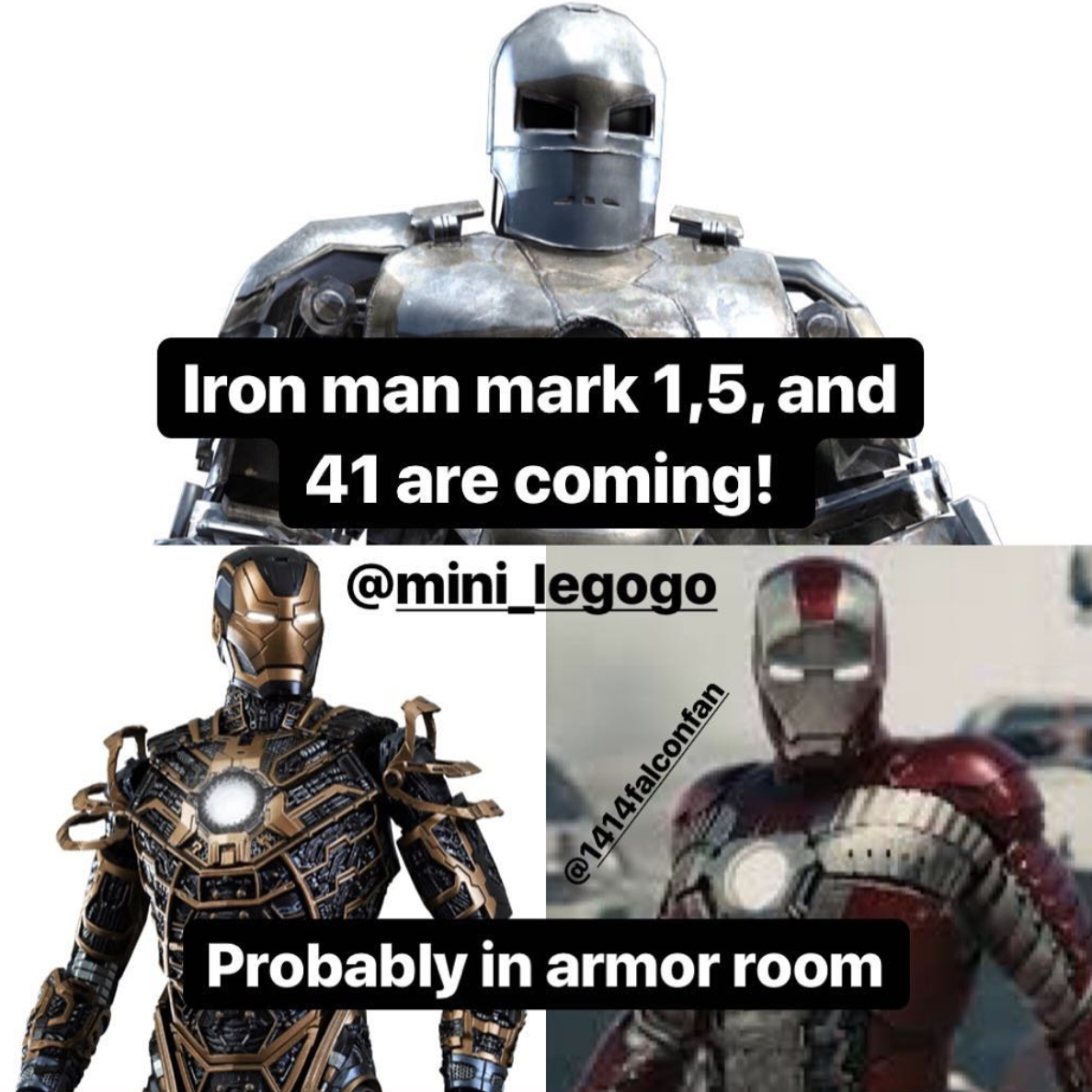 Several Classic Iron Man Suits Said To Feature In Avengers