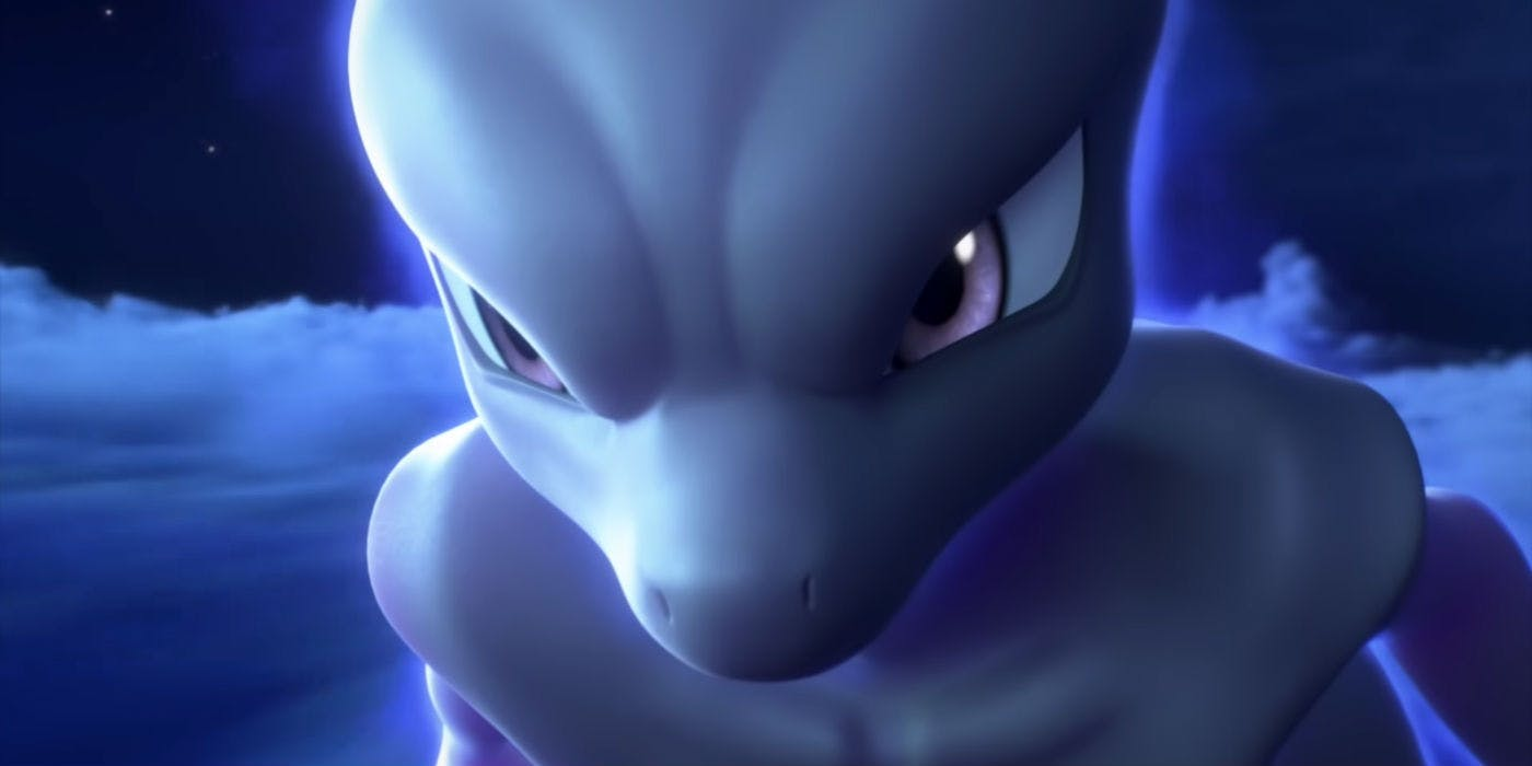 First look at mew and pikachu in pok mon the movie mewtwo strikes back evolution - Mewtwo evolution ...