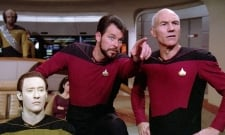 Patrick Stewart And Jonathan Frakes Reunite In Star Trek: Picard BTS Photo