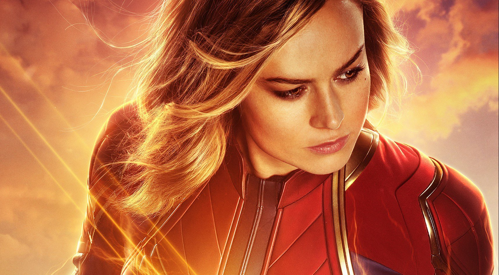 captain marvel star brie larson reportedly signs huge 7-movie deal