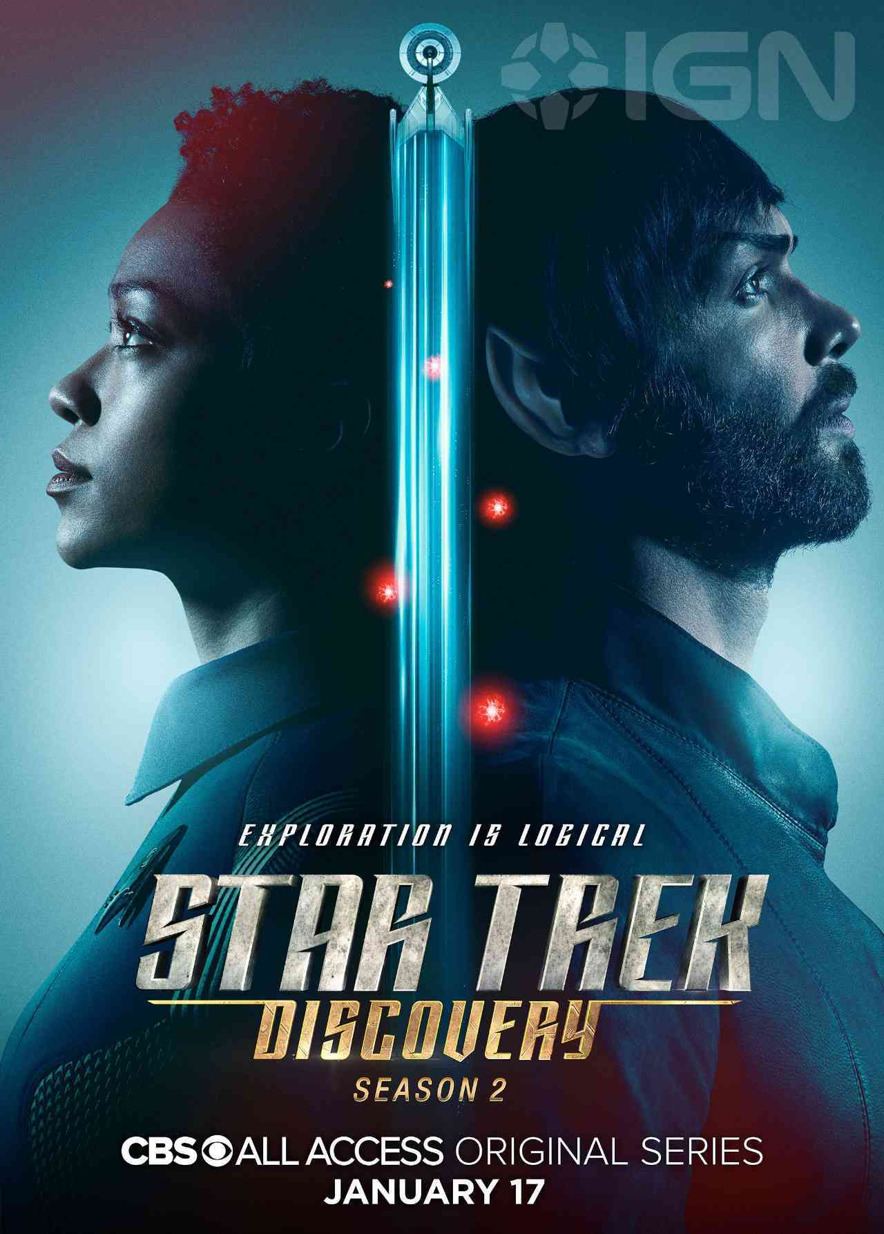 Star Trek: Discovery Season 2 Character Posters Reunite The Crew