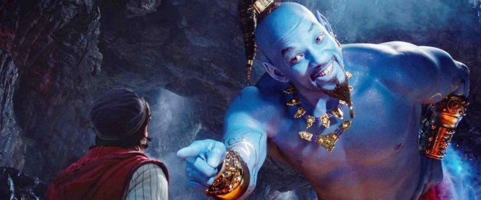 Disney Reportedly Developing Aladdin Spinoff For Will Smith's Genie