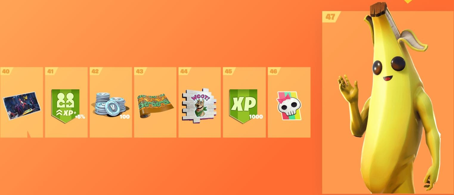 Here's Every Reward You Can Earn In Fortnite Season 8's Battle Pass