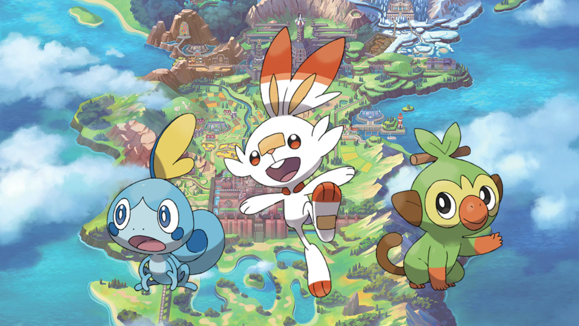 Meet The Gen 8 Starter Pokémon Of Sword And Shield