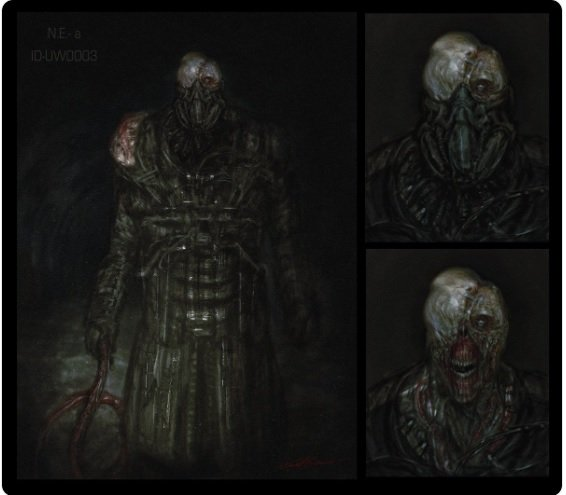 New Art Shows Us What Nemesis May Look Like In Resident Evil 3 Remake