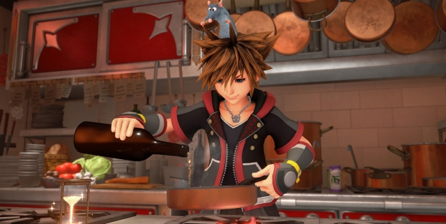 Screenshot from Kingdom Hearts III