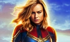 Brie Larson Shows Us Captain Marvel Can Lift Mjolnir With New Photo