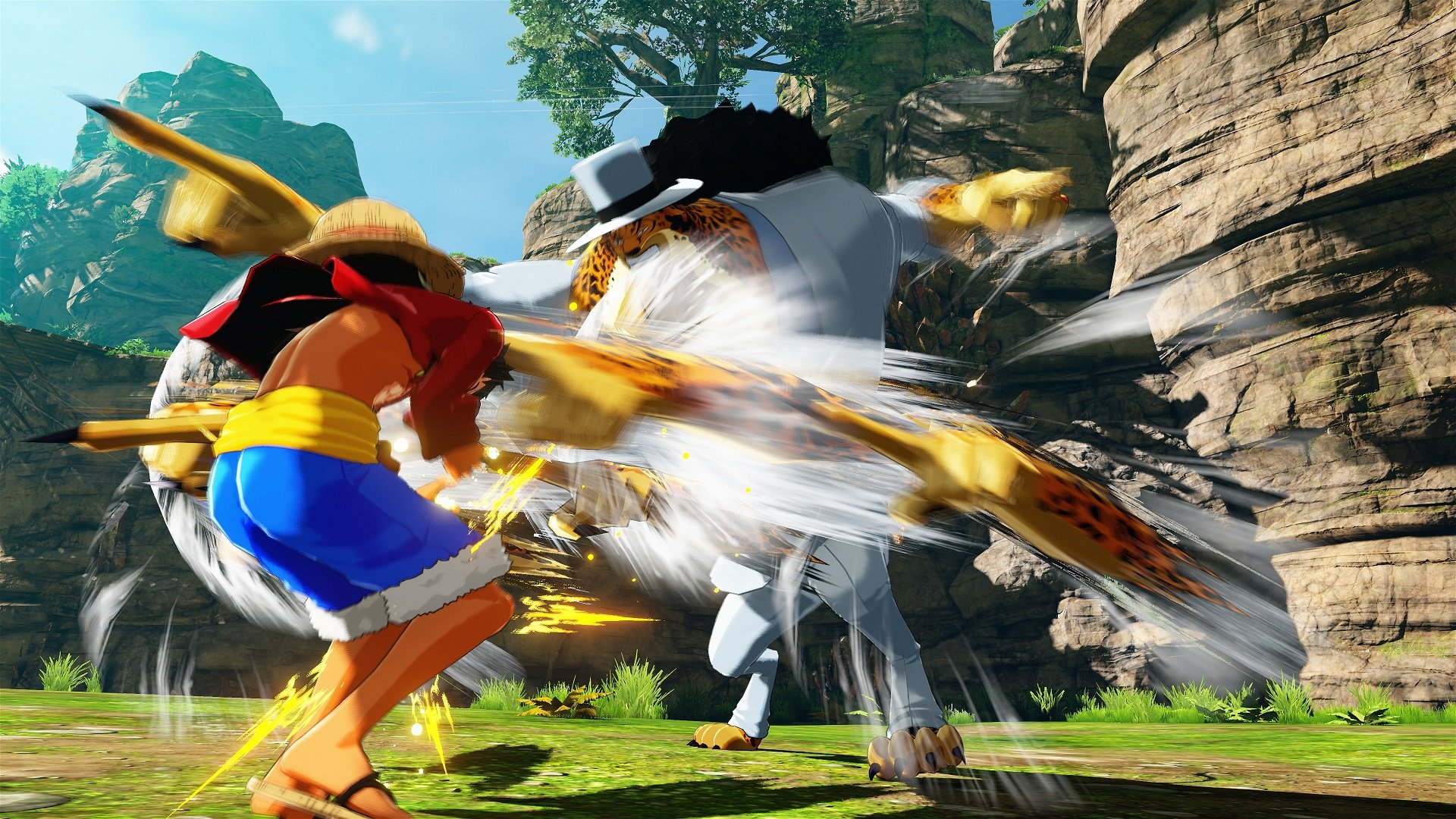 One Piece World Seeker Screenshot