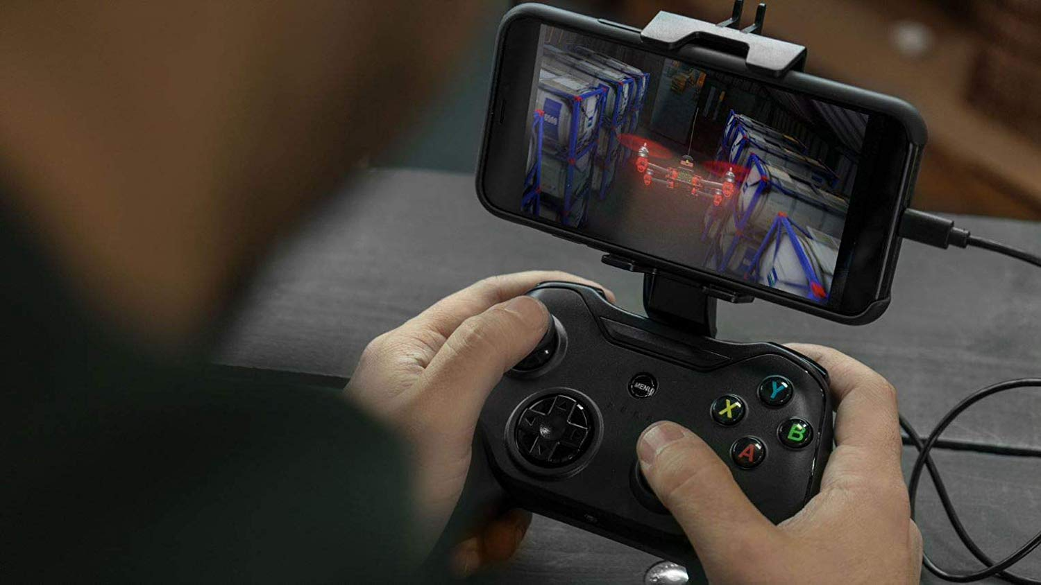 Rotor Riot Mobile Game Controller