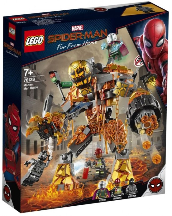 Spider Man Far From Home Lego Sets Confirm Two New Villains