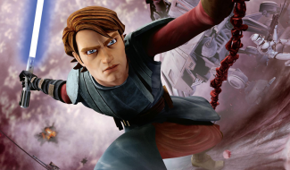 Anakin And Rex Fight Winged Lizards In New Star Wars: The Clone Wars Clip