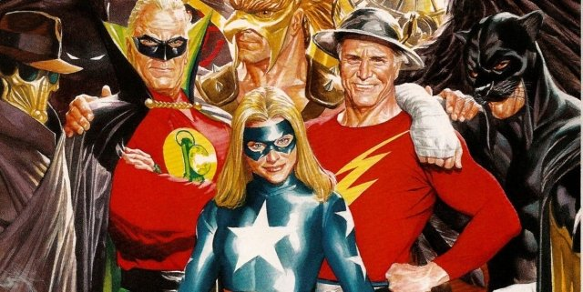 Stargirl-and-Justice-Society-of-America-by-Alex-Ross