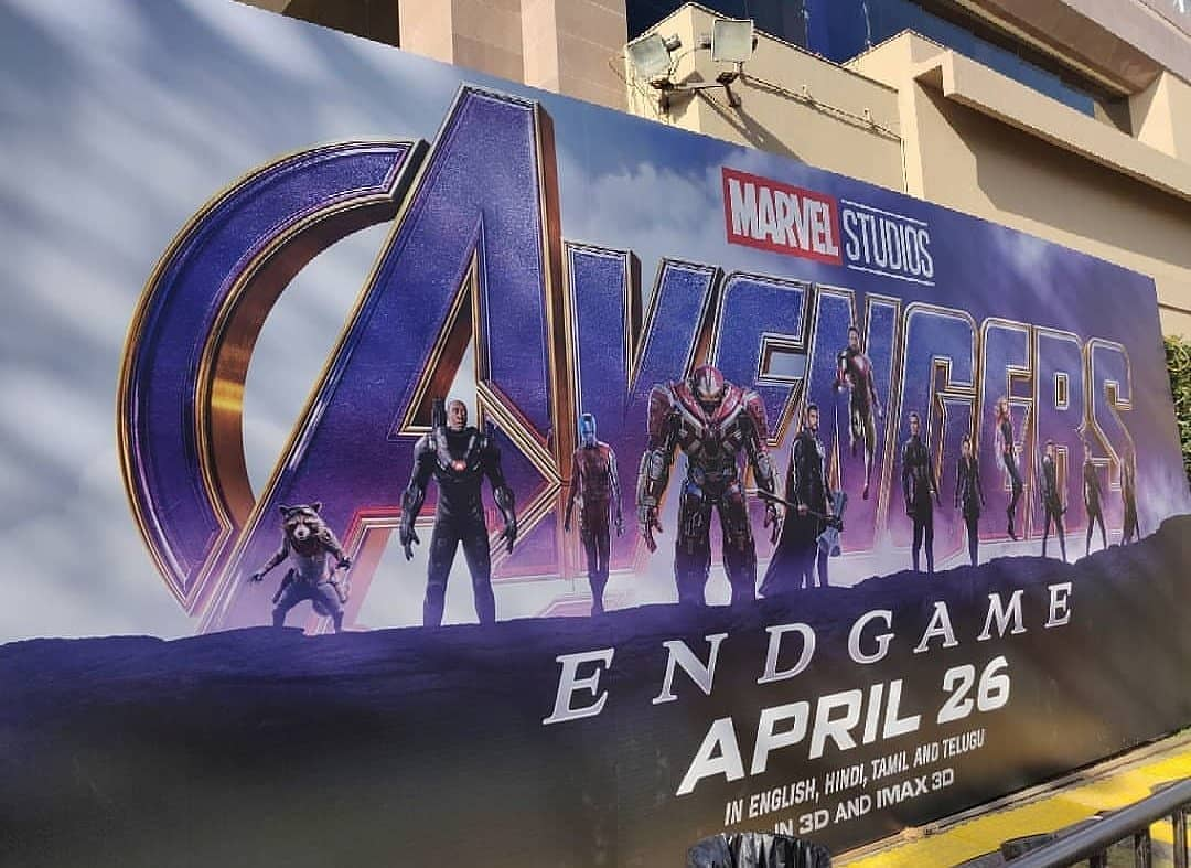 avengers endgame banner reveals new look at the hulkbuster