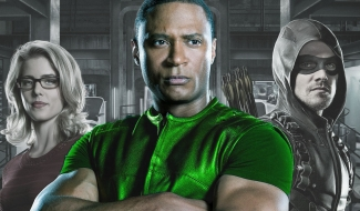 Arrow Star Won't Say Anything About Diggle's Green Lantern Future