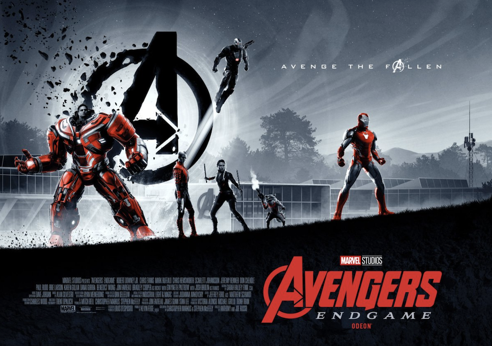 Avengers Endgame International Posters Reveal New Look At Bruce In