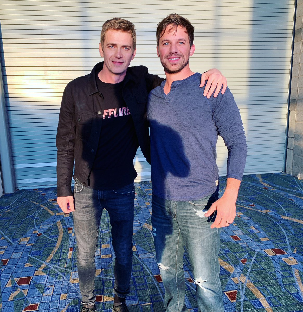Two Anakin Skywalkers Unite In Awesome Star Wars Celebration Photo