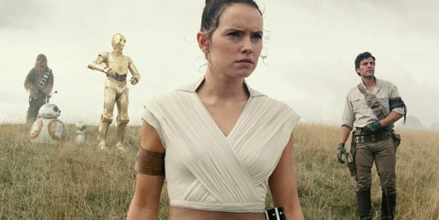 Rey Star Wars rise of Skywalker